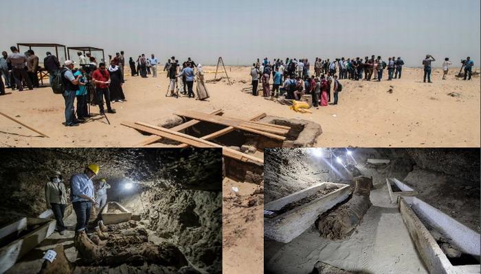 """Hallazgo """"sin precedentes"""": encuentran 17 momias en el centro de Egipto"""