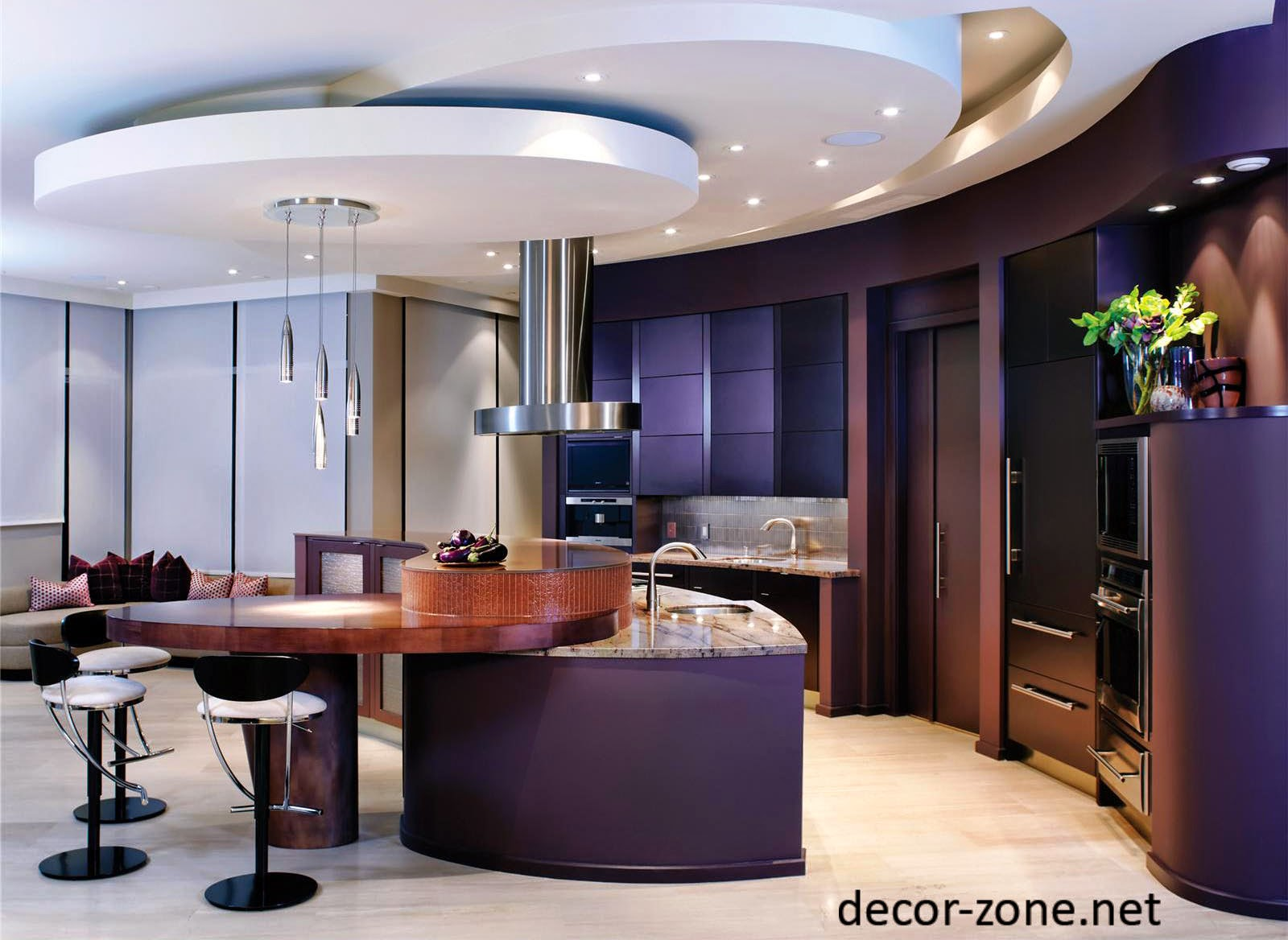 kitchen ceiling ideas portable islands for kitchens 10 designs and materials