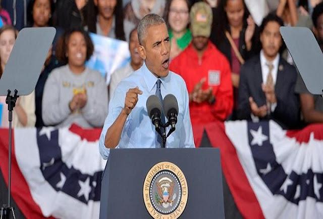 Obama Dorong Cabut Dukungan ke Donald Trump