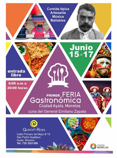 feria gastronómica ciudad ayala 2018