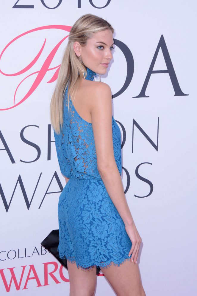 Martha Hunt – 2016 CFDA Fashion Awards in New York