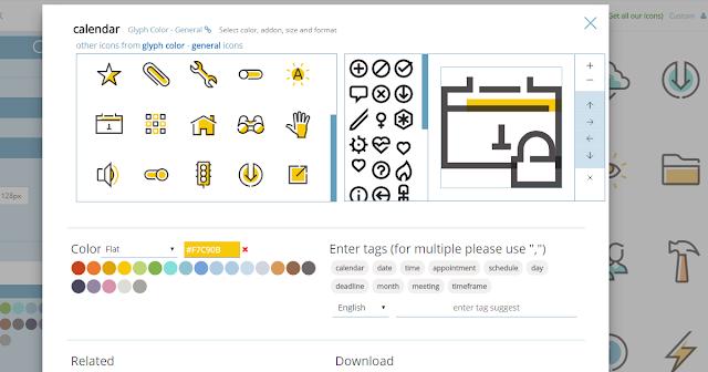 Iconshock 200萬icon免費圖庫下載圖示前還可自己改設計數位時代