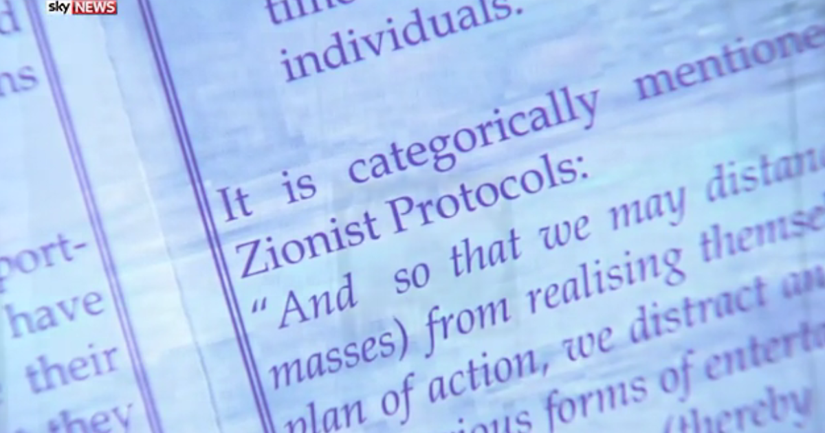 new zion muslim Muslim brotherhood by the inclusion of references to the notorious forgery circulated by the nazis — the protocols of the elders of zion the financial times.