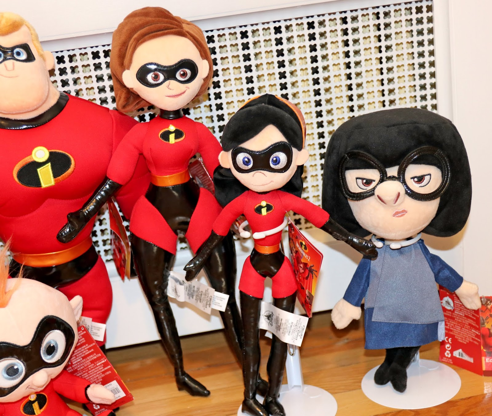 disney store incredibles 2 plush
