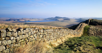Ancient wall in britain - hadrians wall
