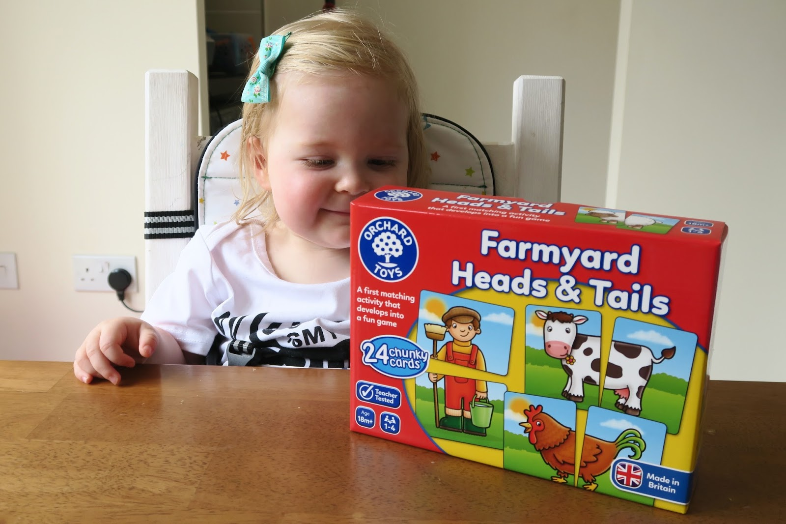 ORCHARD TOYS FARMYARD HEADS & TAILS REVIEW