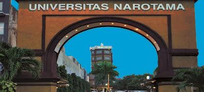 Pendaftaran Dan Biaya Kuliah Universitas Narotama (UNNAR) Surabaya