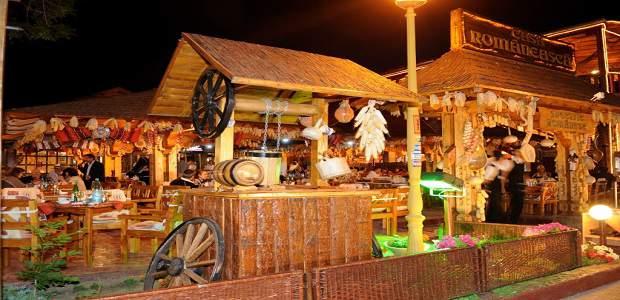 Terasa Casa Romaneasca, Mamaia langa Satul de vacanta