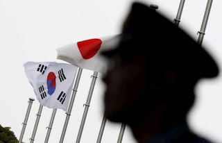 Bendera Korea Selatan - Jepang