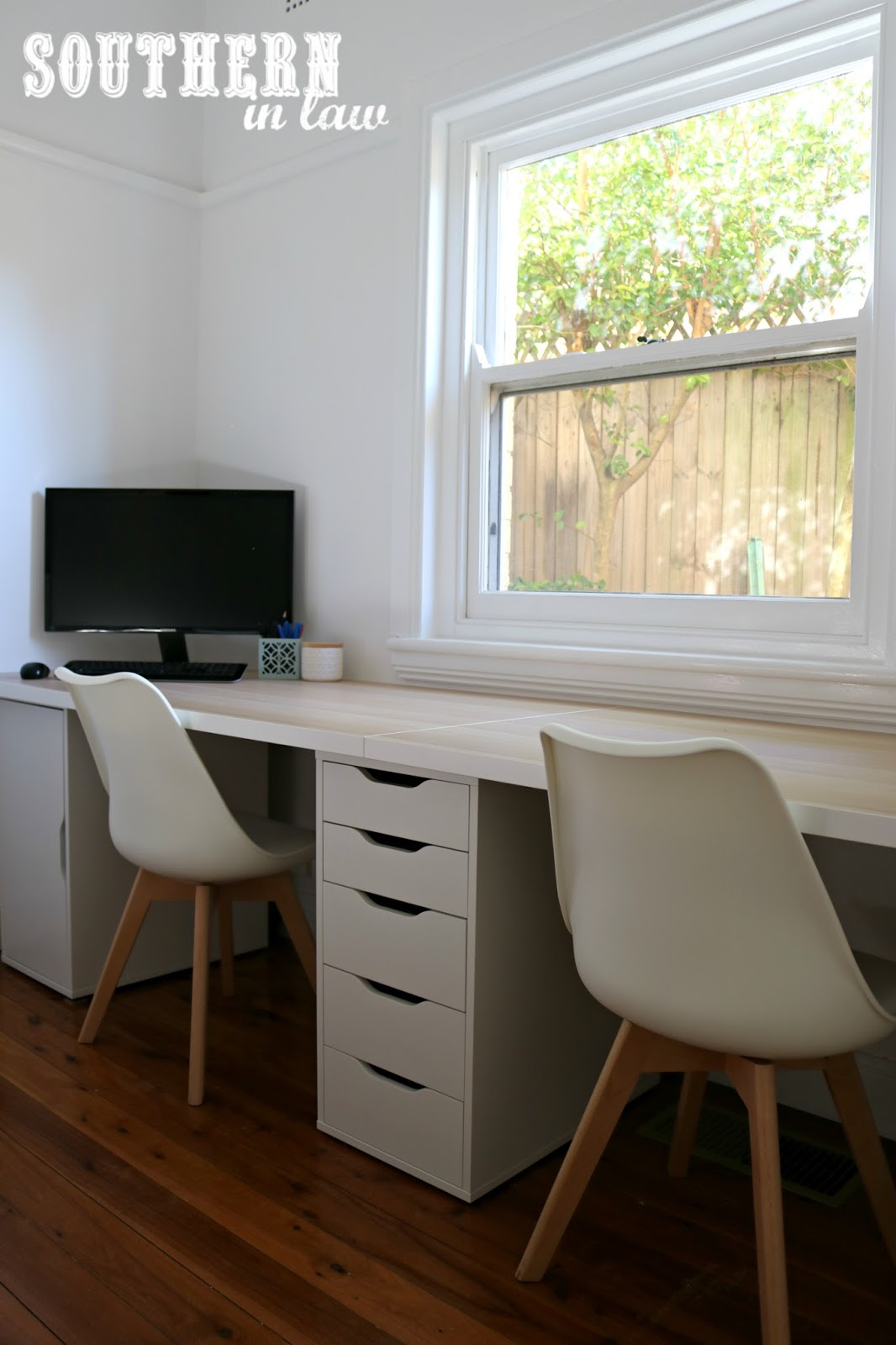 Genial Spare Bedroom To Home Office Makeover On A Budget   Unique Home Office Ideas  And How