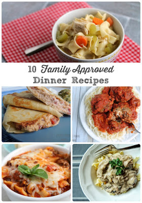 10 Family Approved Dinner Recipes, shared by The Frugal Foodie Mama at The Clever Chicks Blog Hop
