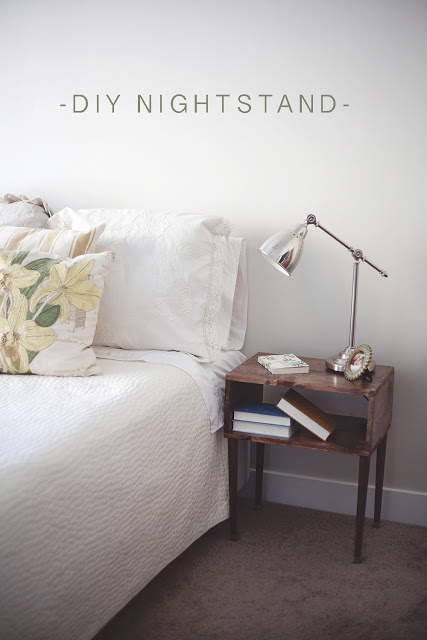 Click to buy DIY NIGHTSTAND WOOD