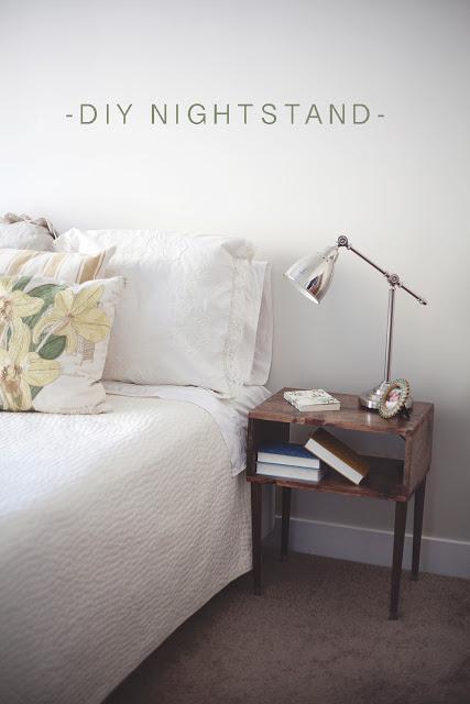 Click to buy DIY NIGHTSTAND WOOD