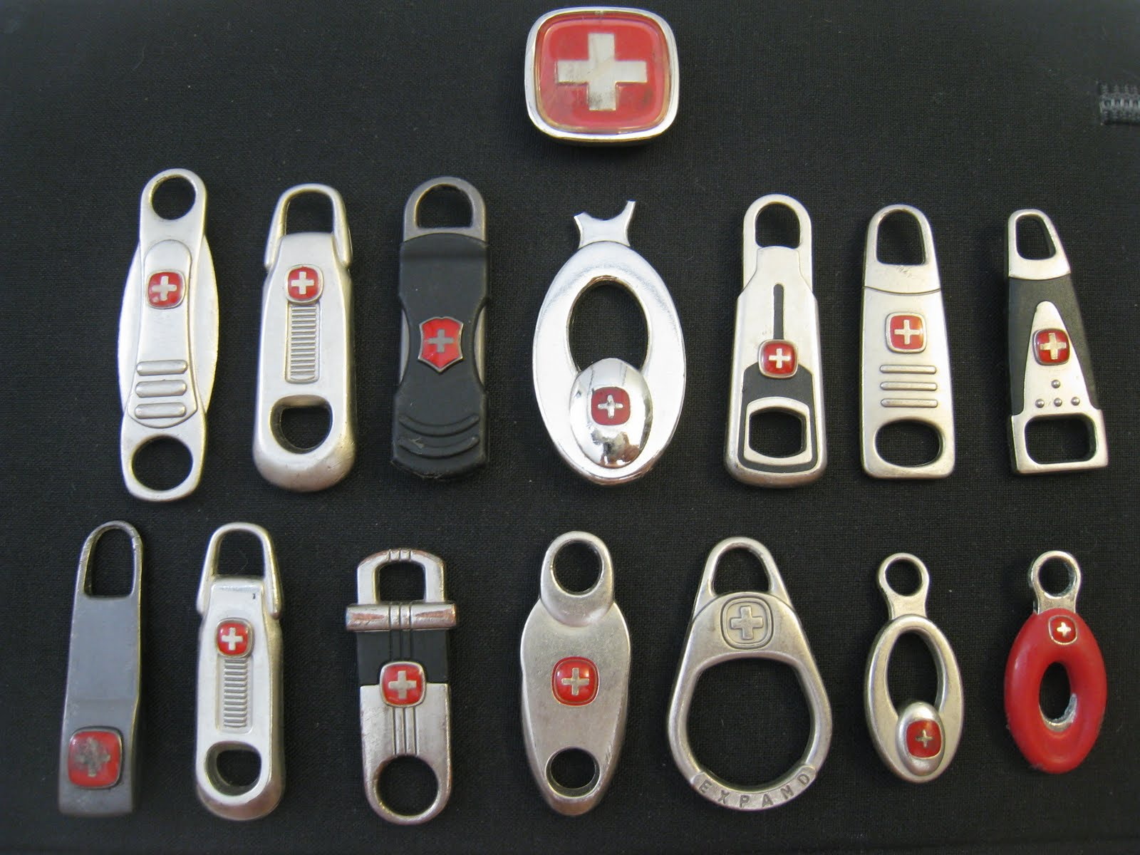 Zipper Pull Tabs Wenger And Swiss