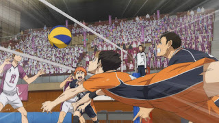 Haikyuu!! - gra w siatkówkę w wykonaniu Karasuno