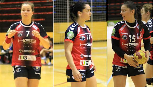 Ainhoa Hernández, Paula Valdivia y Amaia González de Garibay del Zuazo