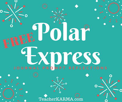 FREE journal prompts for Polar Express TeacherKarma.com