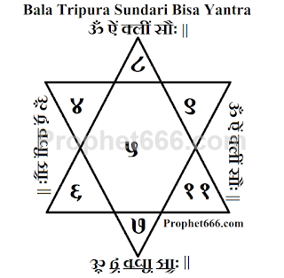 Bala Tripura Sundari Bisa Yantra for wealth and money generation