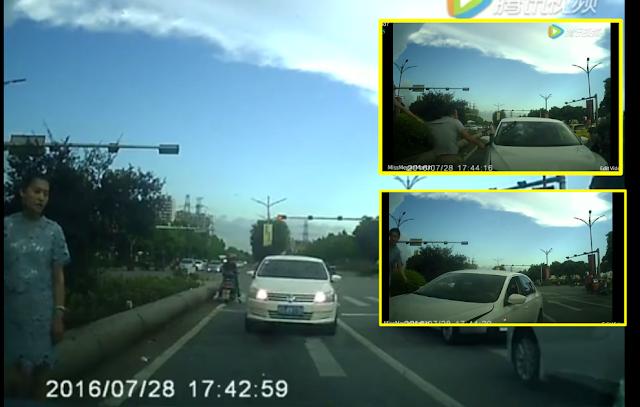 (Video) GTA Dunia Nyata? Kemalangan Kecil Bertukar Jadi Keganasan Atas Jalan Raya