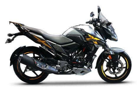 New 2018 Honda XBlade 160 Adventure sdie look