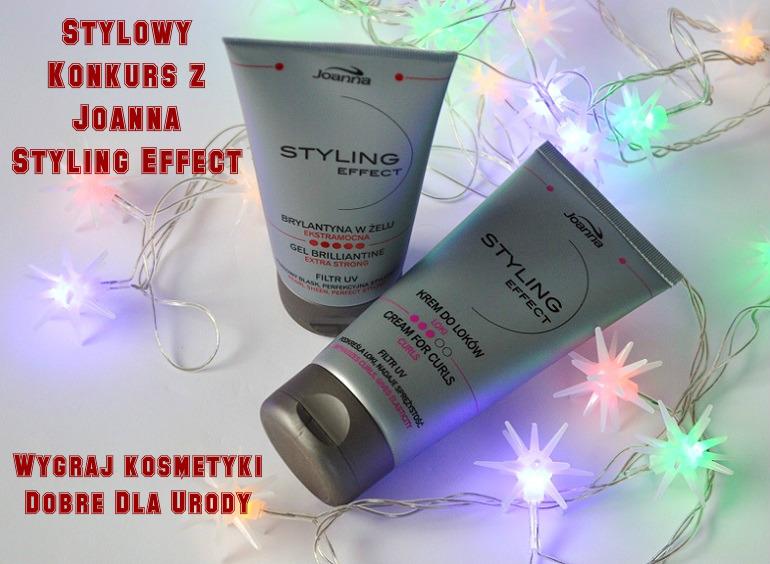 Konkurs - wygraj kosmetyki do stylizacji włosówJoanna Styling Effect