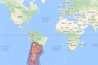 Satellite Beam Arsat 1 71.8°W KU Band