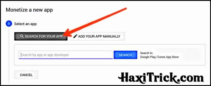 admob par app search kaise add kare