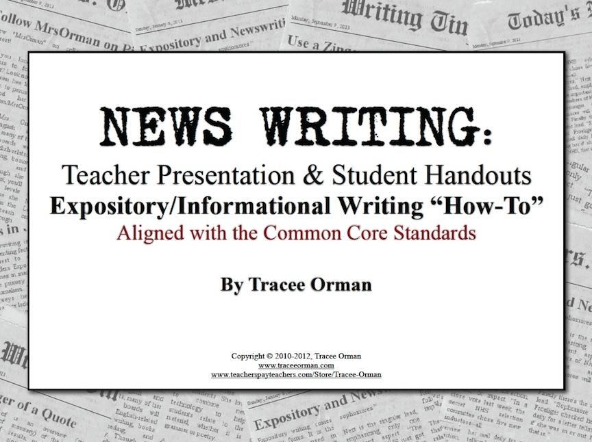 Writing a presentation handout
