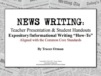 Expository Writing Common Core Aligned
