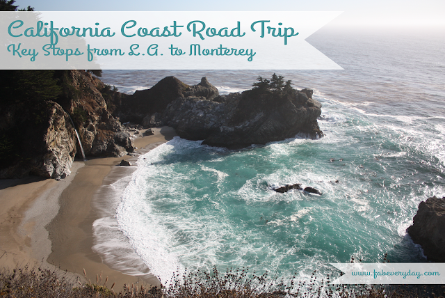 Essential Itinerary for a Road Trip through Big Sur on PCH