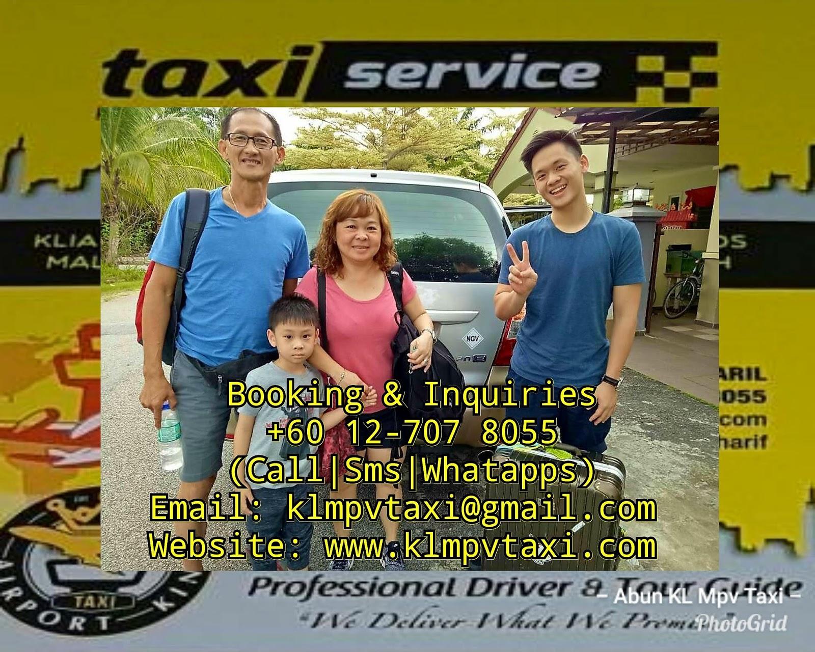 24 Hours Taxi Service Kl Mpv Taxi Airportking Airport Transfer Tour Sightseeing From Klia2 Airport Totaman Gemilang Sungkai Bidor Perak