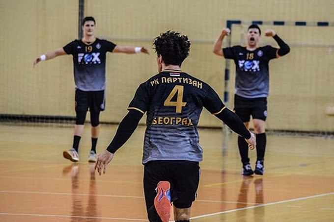 Pobeda rukometaša Partizana! (VIDEO)