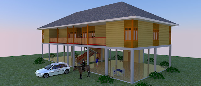 Arsitektur Kayu