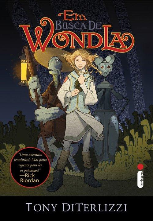 """News: Capa de """"Em busca de Wondla"""", do autor Tony DiTerlizzi. 7"""