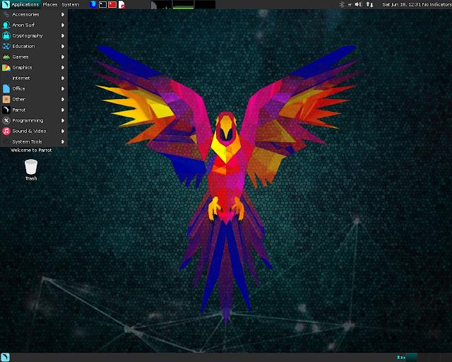 Lançado Parrot Security OS 3.1, faça o download!