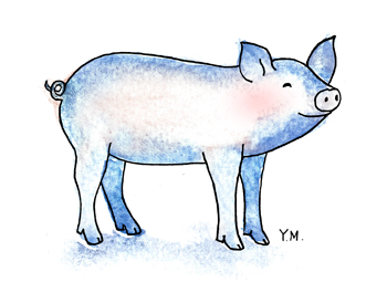 Pig by Yukié Matsushita