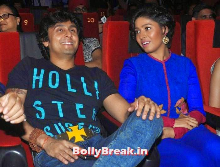Sonu Nigam, Sunidhi Chauhan, Pics from 'Rang Rasiya' Music Launch