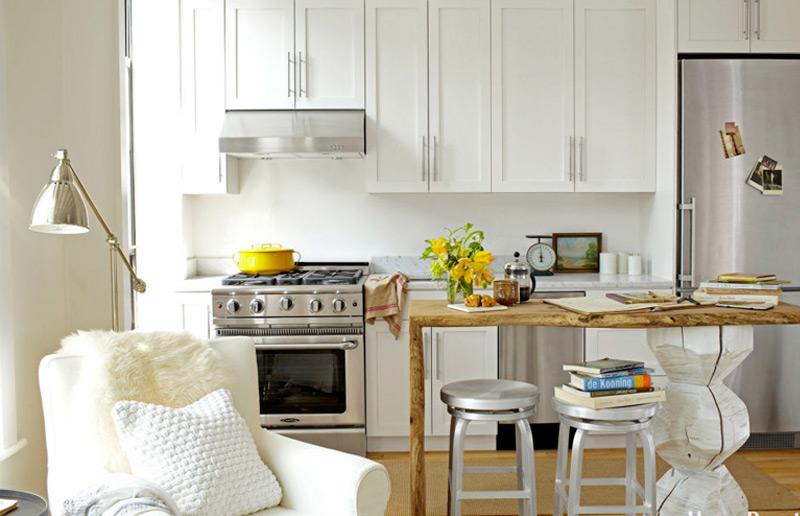 Como deixar a sua cozinha pequena mais espaçosa, prática e funcional!