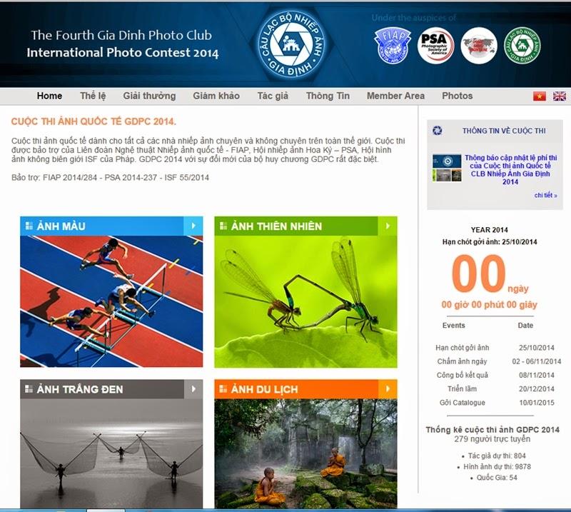 Hành Trình Việt hân hạnh tài trợ Cuộc thi ảnh Quốc Tế Gia Định lần 4