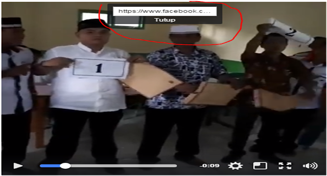 klik kanan video facebook
