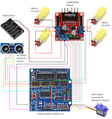 robot car with tcs230 color recognition rh forum arduino cc Arduino Push Button Wiring Arduino Mega Wiring -Diagram