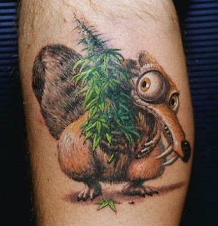 foto 1 de i love you mary jane, tattoos y marihuana