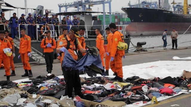Titik Terang, Koordinat Badan Pesawat Lion Air Ditemukan