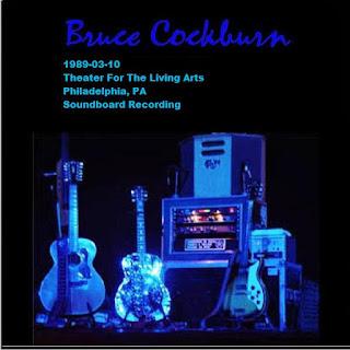 Bruce Cockburn - 1989-03-10 - Philadelphia, PA (SBD)