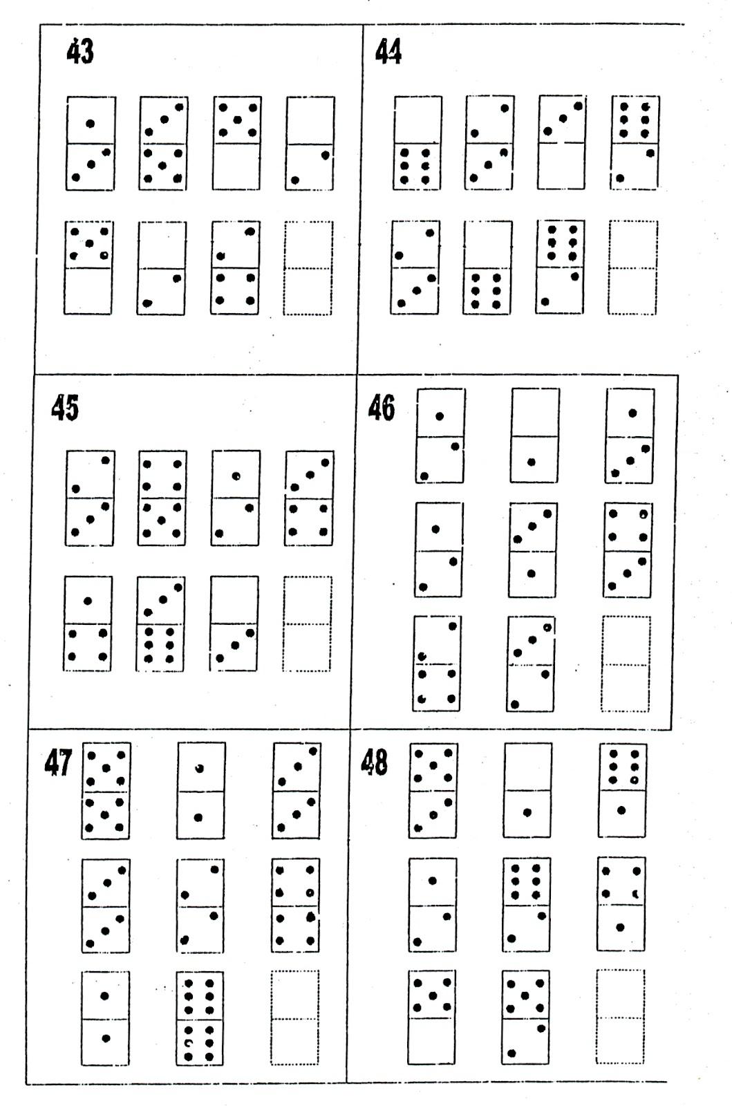 Test de domino d48