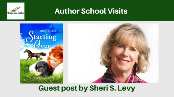 Author School Visits, guest post by Sheri S Levy