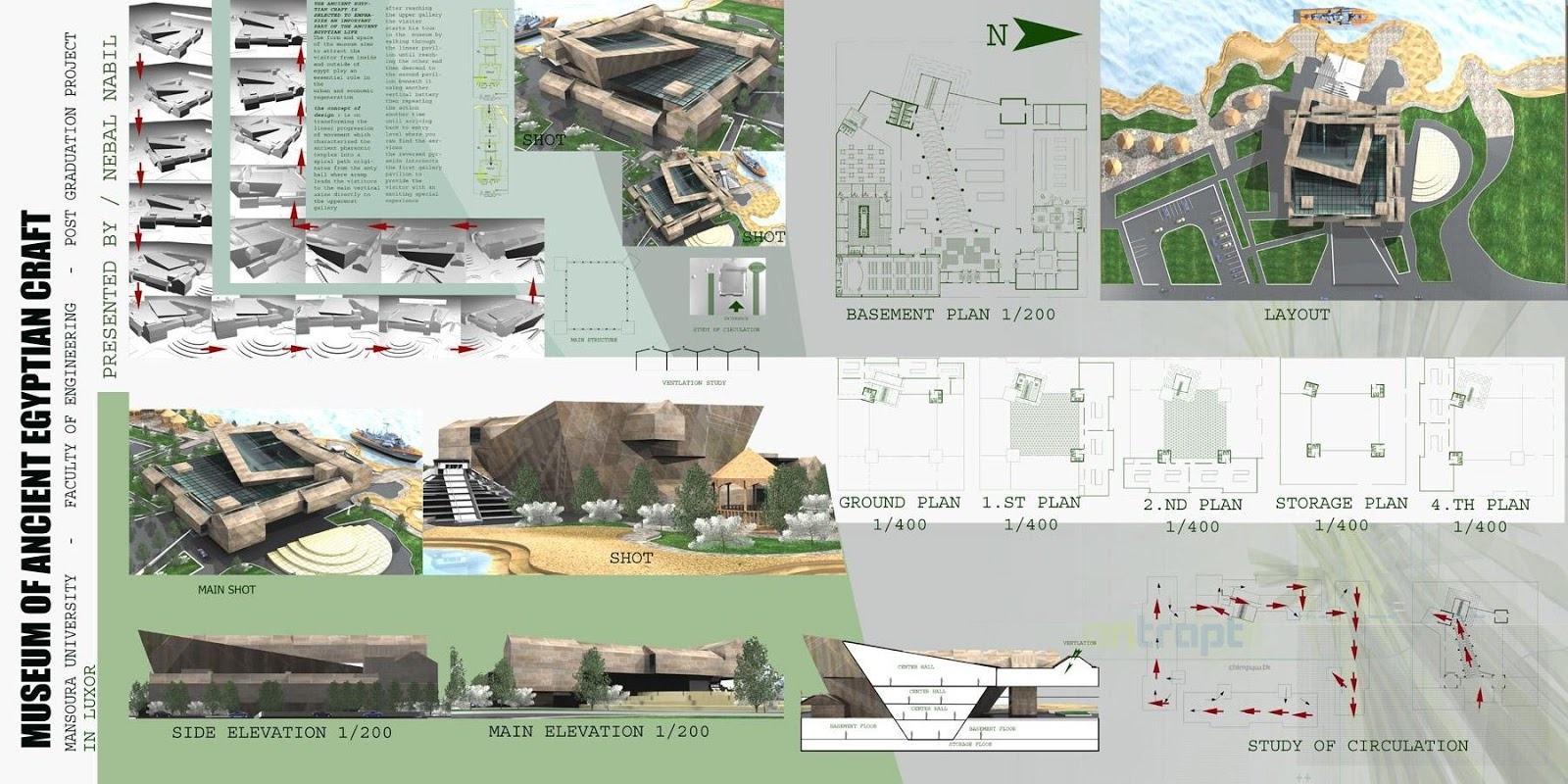 Architecture Projects Presentation Graduation Projects