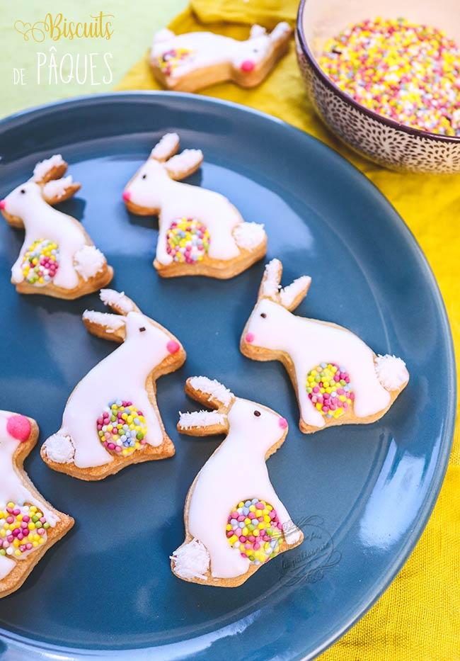 biscuits lapins de paques