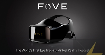 eye tracking VR headset