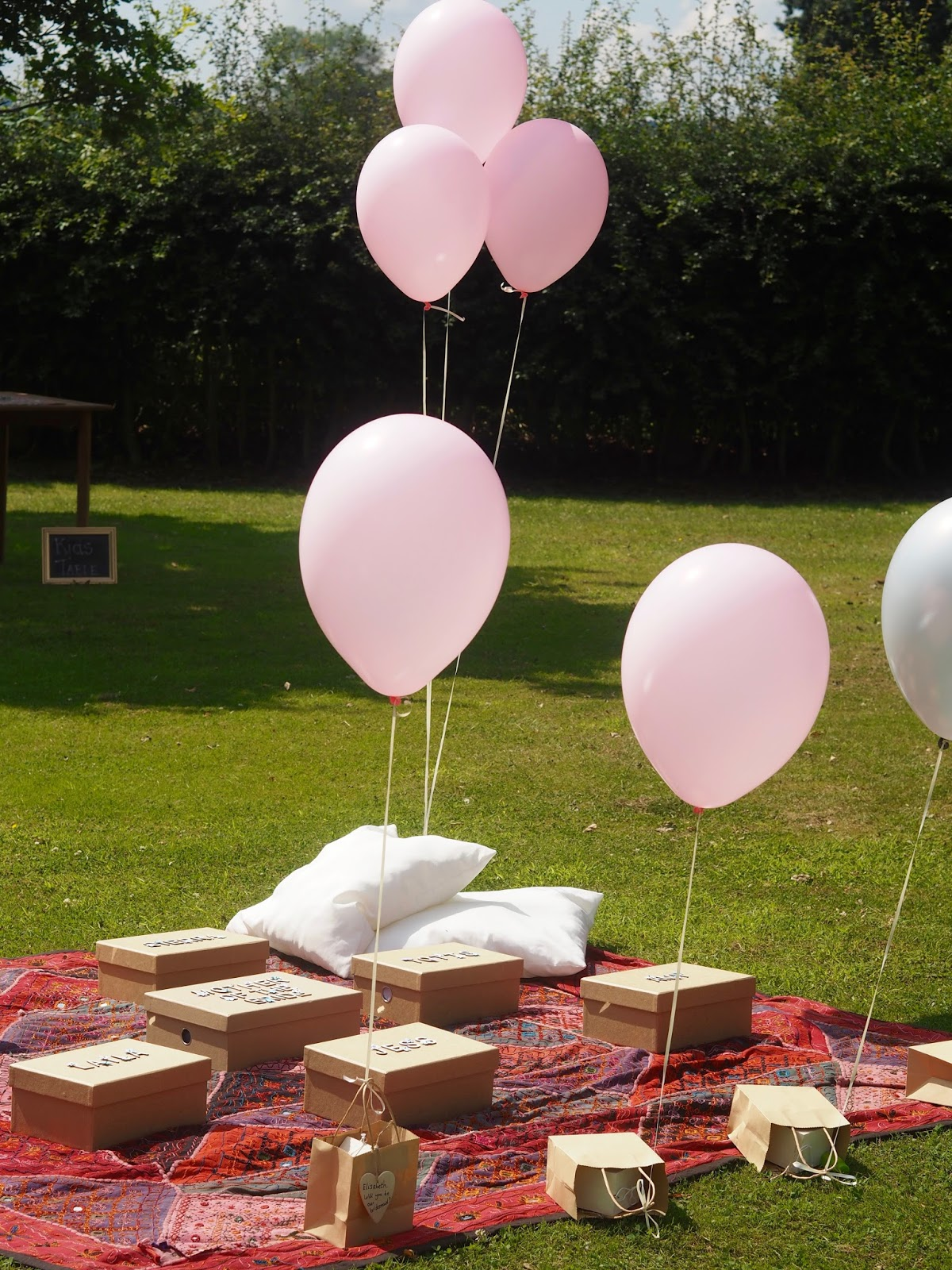 garden party ideas, engagement party, boho party, bridesmaids
